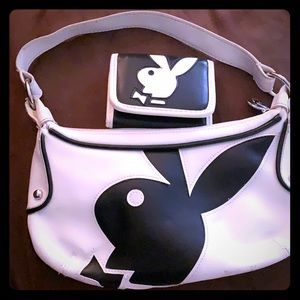Playboy purse and wallet
